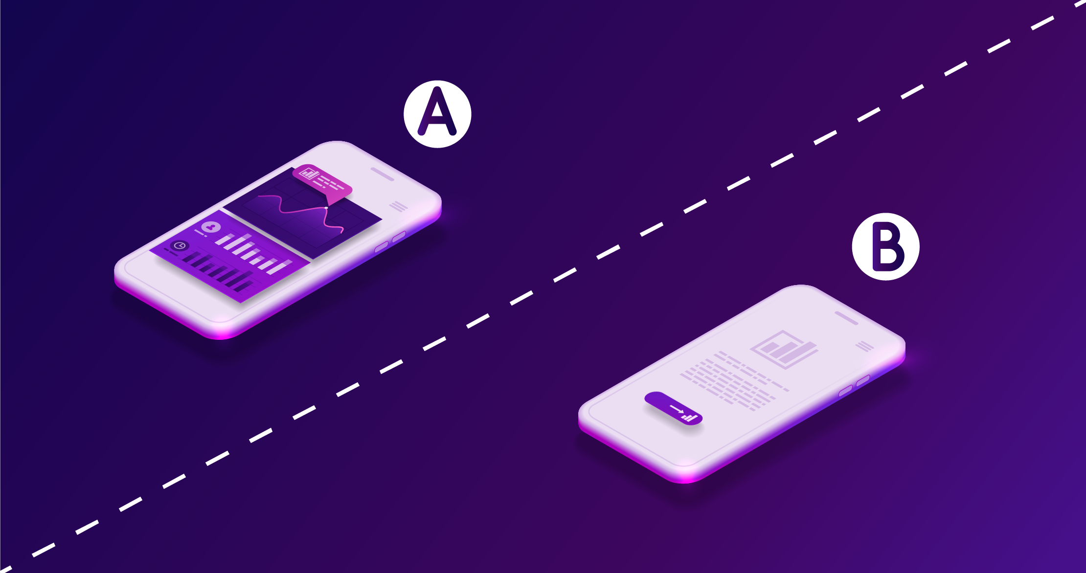 Improve your conversion rate - run A/B testing campaigns