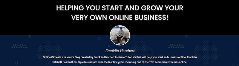 Dropshipping Influencer - Franklin Hatchett