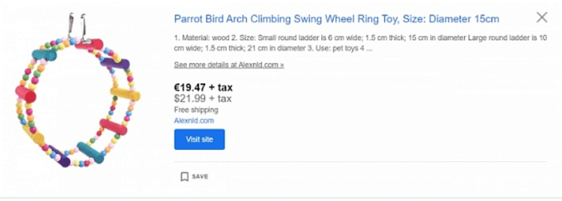 Google Shopping is the best place to throw your advertising dollars.