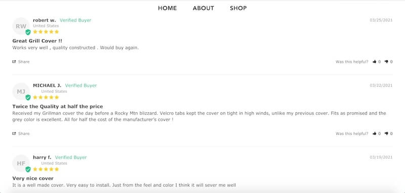 Build your one-product store on Shopify - Grillman Product Reviews
