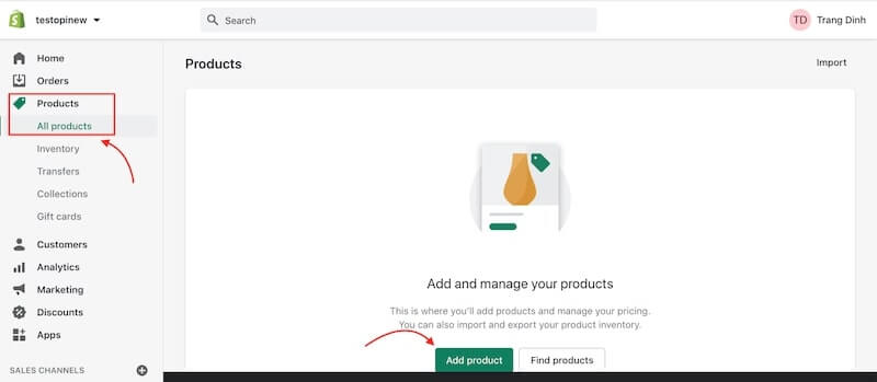 Build your one-product store on Shopify - Add your product