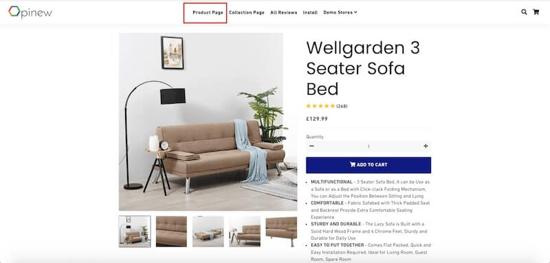 Build your one-product store on Shopify - Product page design