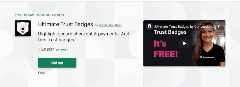 Ultimate Trust Badges