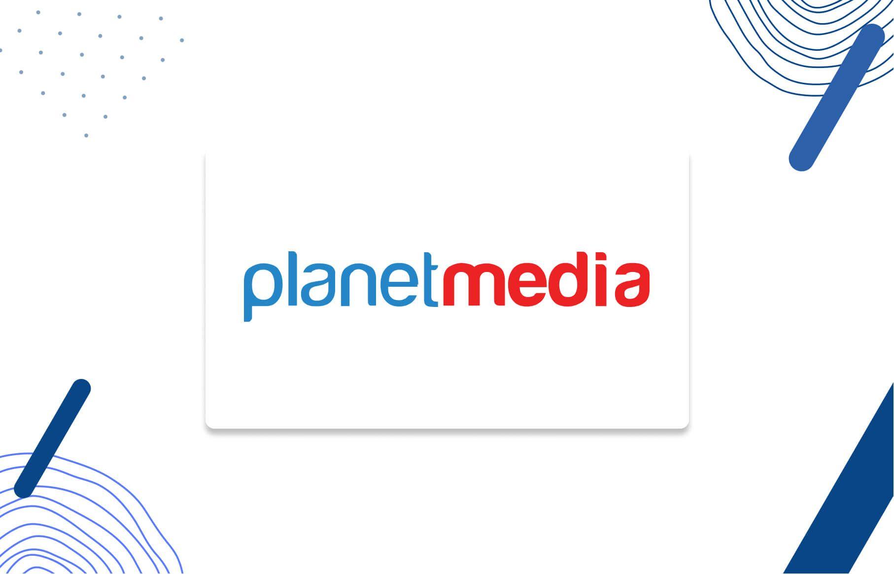 Planetmedia Logo - Your digital growth partner