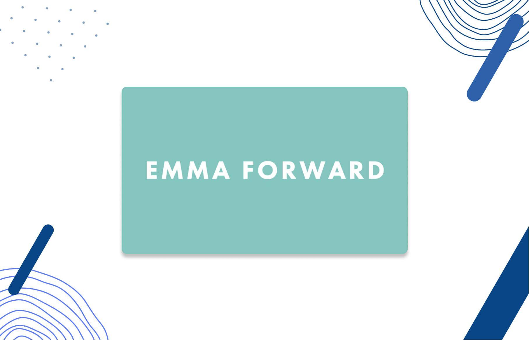 Emma Forward Logo - Increase profitability online through eCommerce strategy