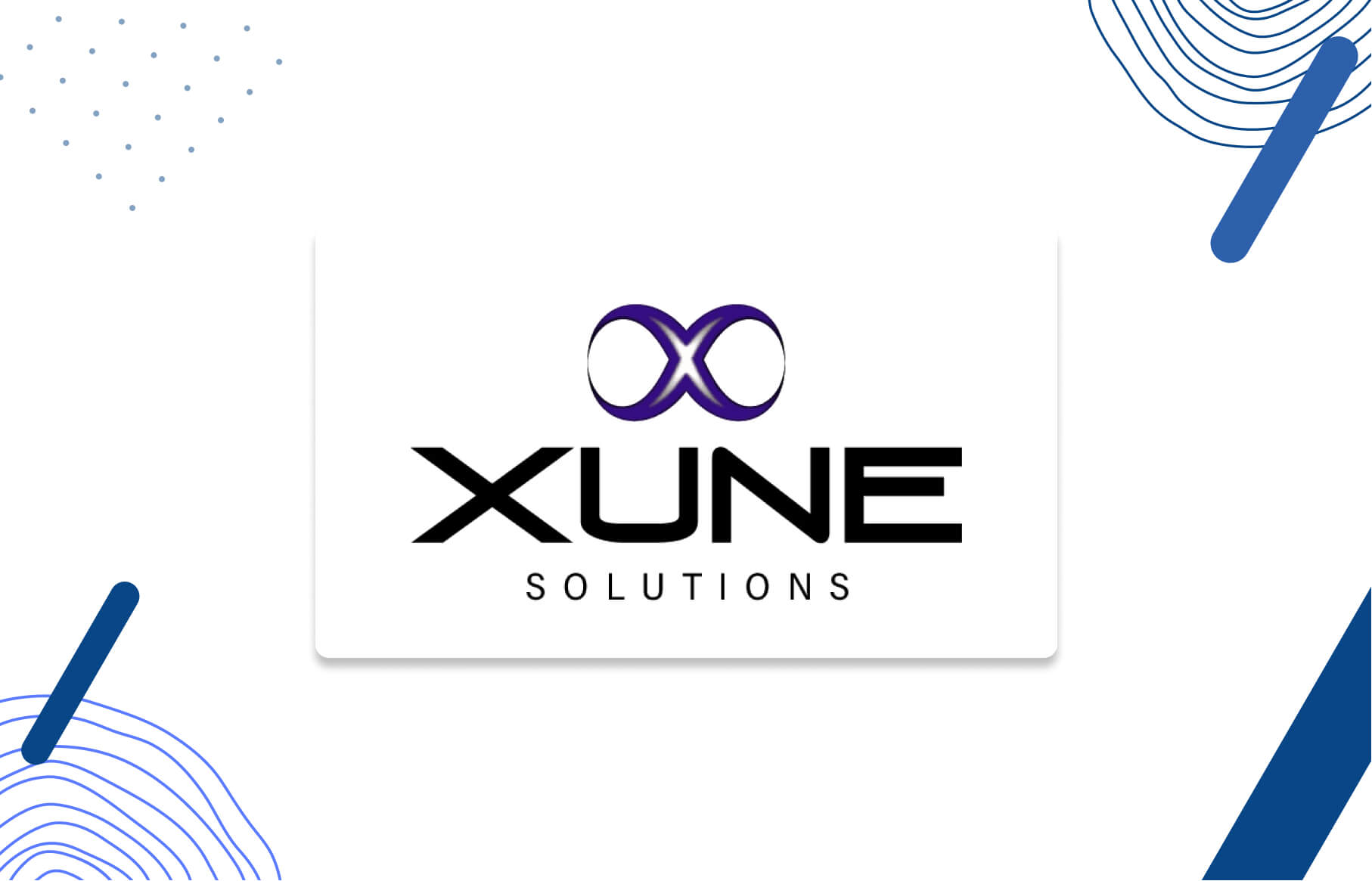 Xune Solutions Logo - Your Growth Agency