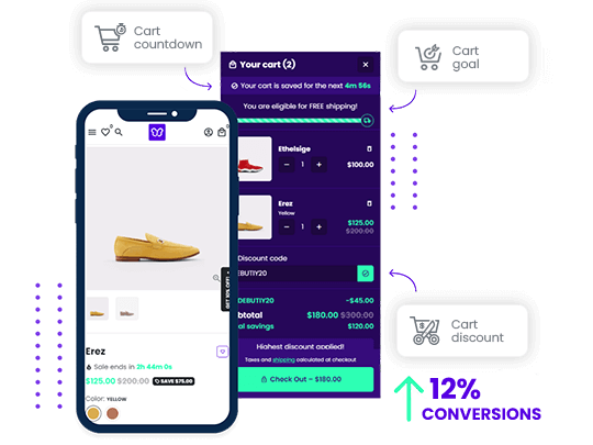 Increase conversions on Shopify with Debutify and Opinew