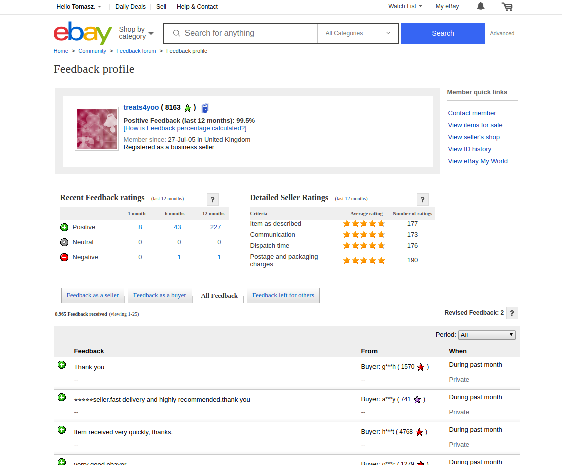 Where Can I Find My Ebay Seller Feedback Link Opinew Help